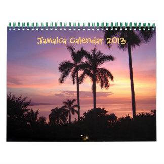 Calendario 2013 de Jamaica