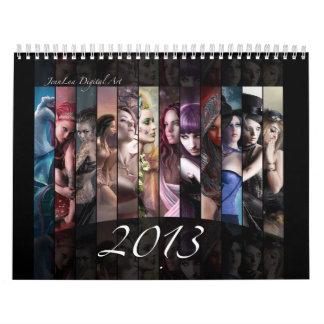Calendario 2013 de la fantasía
