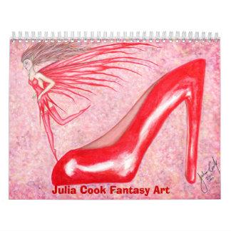 Calendario 2013 de la fantasía del cocinero de