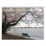 Calendario 2013 de la flor de cerezo del Washingto