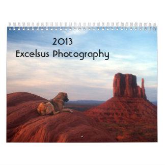 Calendario 2013 de la foto de Excelsus