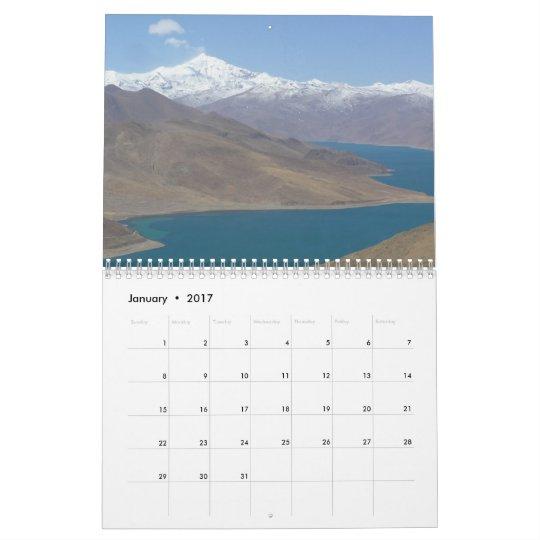 Calendario 2013 de la foto de Tíbet