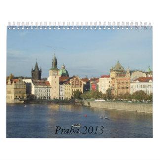 Calendario 2013 de la fotografía de Praga