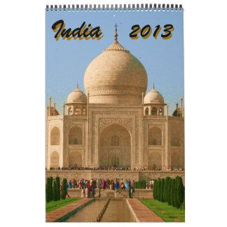 calendario 2013 de la India