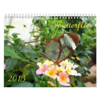 Calendario 2013 de la mariposa