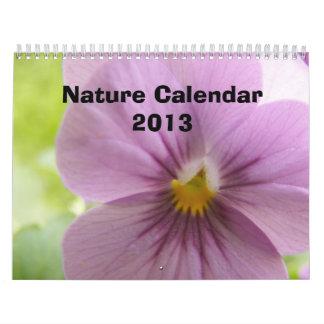 Calendario 2013 de la naturaleza