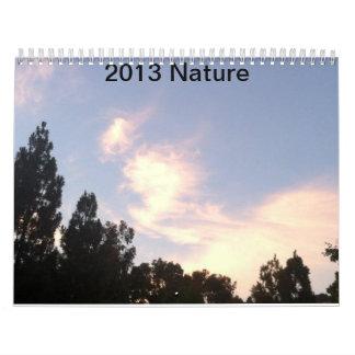 Calendario 2013 de la naturaleza por CCandLexi