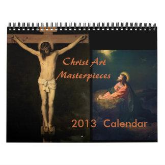 Calendario 2013 de la obra maestra de Cristo