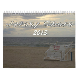 Calendario 2013 de la orilla del jersey
