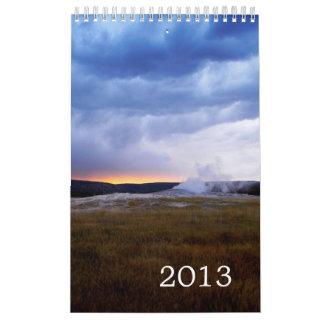 Calendario 2013 de las fotos de la naturaleza