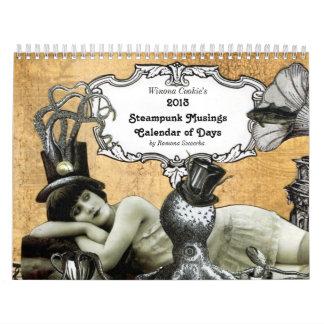 Calendario 2013 de las reflexiones de Steampunk
