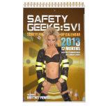 Calendario 2013 de los frikis SVI Brittney Powell