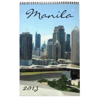 calendario 2013 de Manila