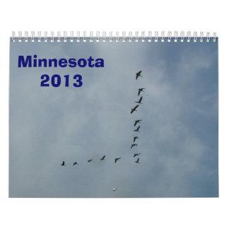 Calendario 2013 de Minnesota