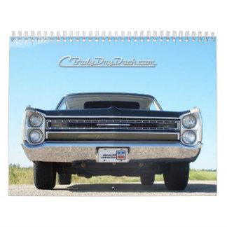 Calendario 2013 de Mopar del C-Cuerpo