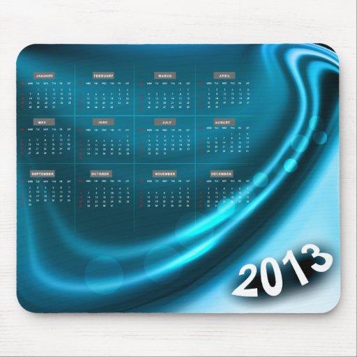 Calendario 2013 de Mousepad 1