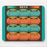 Calendario 2013 de Mousepad Alfombrillas De Ratones