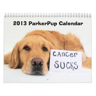Calendario 2013 de ParkerPup