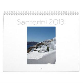 Calendario 2013 de Santorini