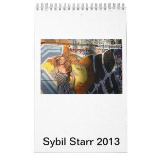 Calendario 2013 de Sybil Starr