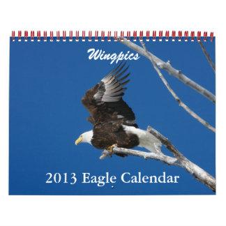 Calendario 2013 de Wingpics Eagle