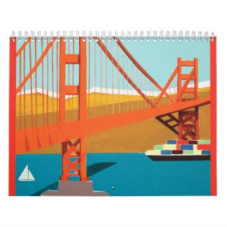 Calendario 2013 del arte de Chez Rhonel