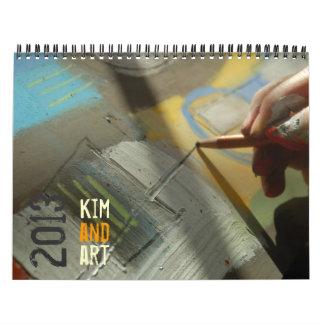 Calendario 2013 del arte de Kim Anderson
