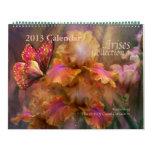 Calendario 2013 del arte de la colección 1 del iri