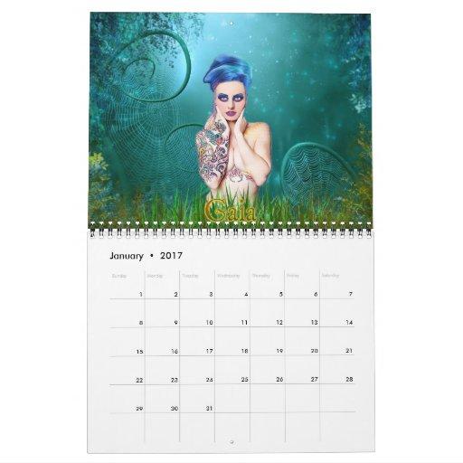 Calendario 2013 del arte de la fantasía