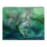 Calendario 2013 del arte de los unicornios
