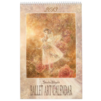 Calendario 2013 del arte del ballet