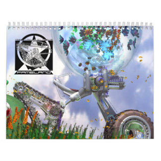 Calendario 2013 del arte del concepto por Fameland