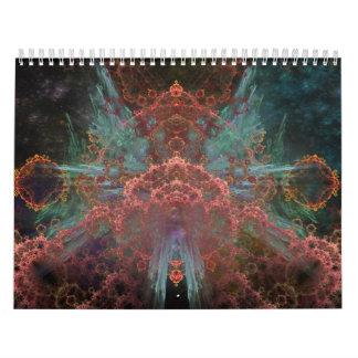 Calendario 2013 del arte del fractal