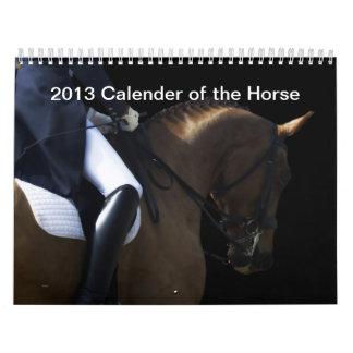 Calendario 2013 del caballo