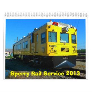 Calendario 2013 del carril de Sperry