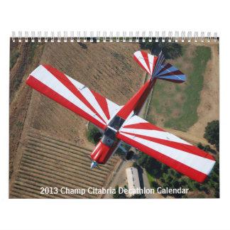 Calendario 2013 del Decathlon de Citabria del camp