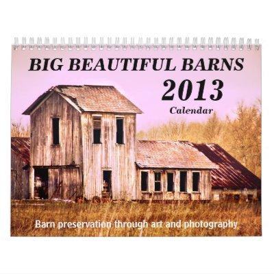 Calendario 2013 del granero