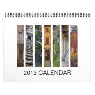 Calendario 2013 del paisaje