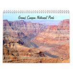 Calendario 2013 del parque nacional del Gran Cañón