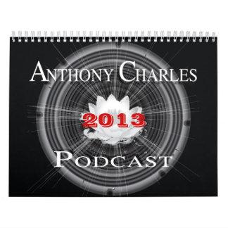 Calendario 2013 del podcast de la CA