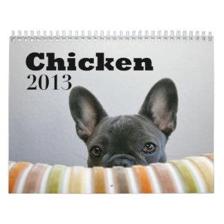 Calendario 2013 del pollo