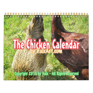 calendario 2013 del pollo de Valxart.com