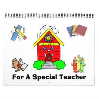 Calendario 2013 del profesor de Personalizable