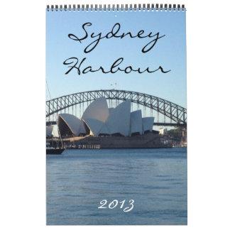 calendario 2013 del puerto de Sydney