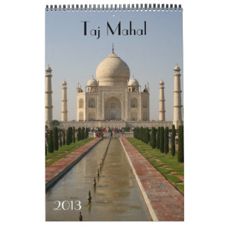 calendario 2013 del Taj Mahal