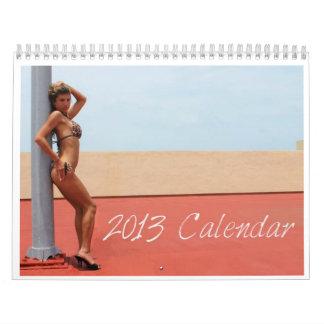 Calendario 2013 del traje de baño