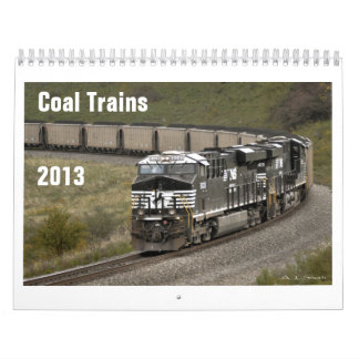 Calendario 2013 del tren del carbón