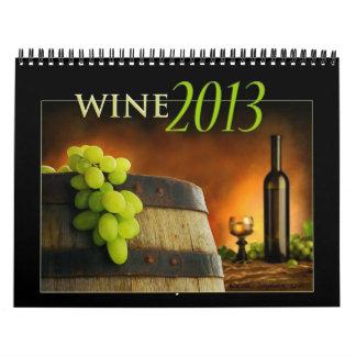 Calendario 2013 del vino