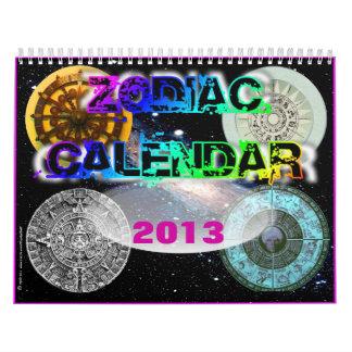 Calendario 2013 del zodiaco de la bola de cristal