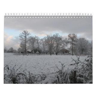 Calendario 2013:  Mañana del invierno